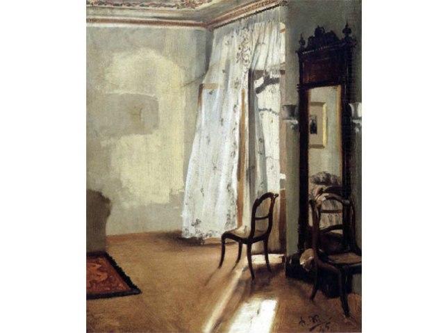 Геннадий Кацов СЛОВОСФЕРА №126 Адольф фон Менцель, «Балконная комната (французское окно)» (1845)