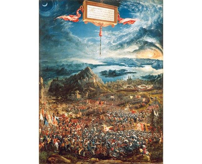 Геннадий Кацов СЛОВОСФЕРА №81 Альбрехт Альтдорфер, «Битва Александра Македонского с Дарием» (1528 – 1529)