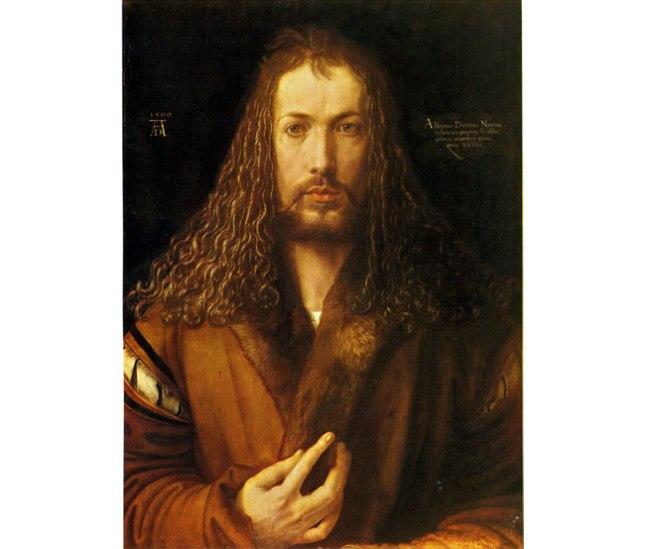 Геннадий Кацов СЛОВОСФЕРА №98 Альбрехт Дюрер, «Автопортрет» (1500)