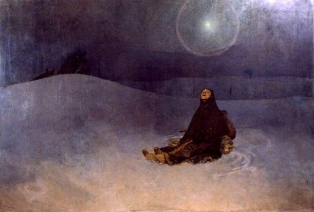 Геннадий Кацов СЛОВОСФЕРА №94 Альфонс Муха, «Россия большевиков. Женщина в степи» (1923)