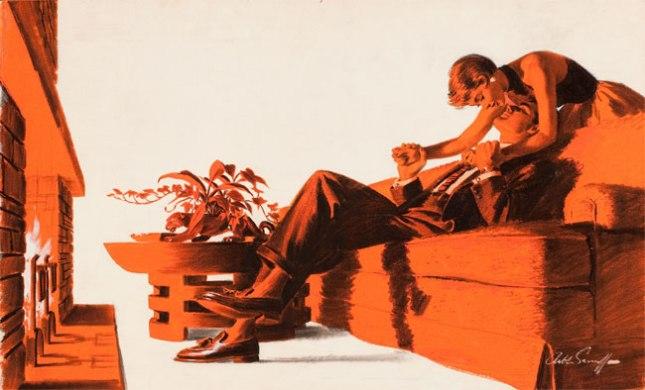Геннадий Кацов СЛОВОСФЕРА №121 Артур Сарнофф, «Поцелуй» (1956)