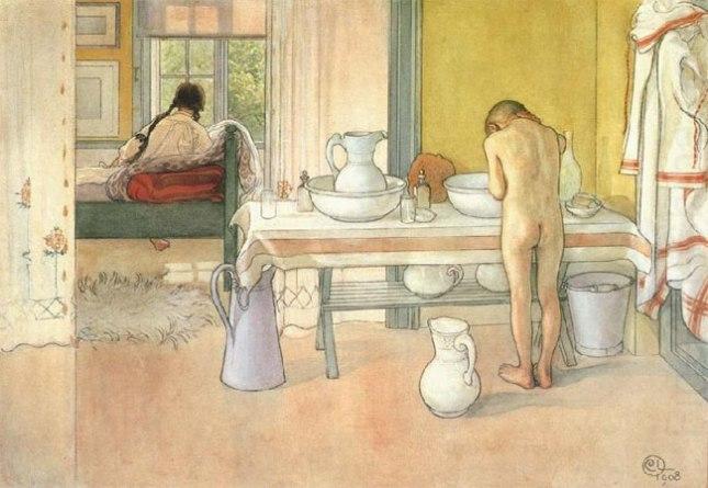 Геннадий Кацов СЛОВОСФЕРА №117 Карл Ларссон, «Летнее утро» (1908)