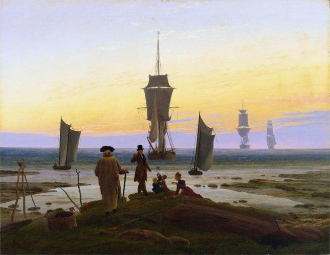Геннадий Кацов СЛОВОСФЕРА №71 Каспар Давид Фридрих, «Четыре возраста. Побережье в Вике» (1835)