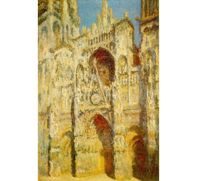 Геннадий Кацов СЛОВОСФЕРА №2 Клод Моне, «Руанский собор» (1894)