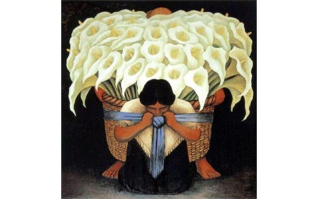 Геннадий Кацов СЛОВОСФЕРА №88 Диего Ривера, «Продавец цветов» (1942)