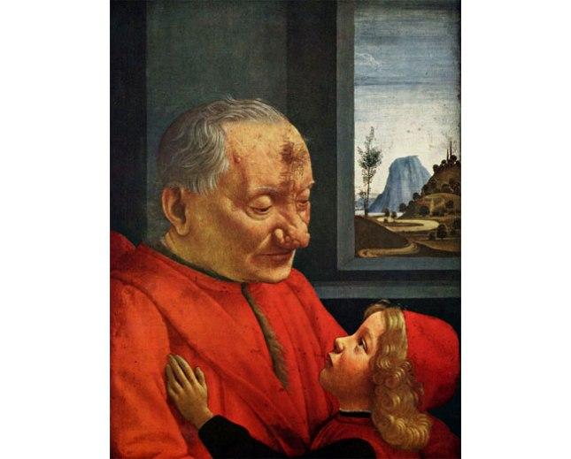 Геннадий Кацов СЛОВОСФЕРА №33 Доменико Гирландайо, «Дед и внук» (1488)