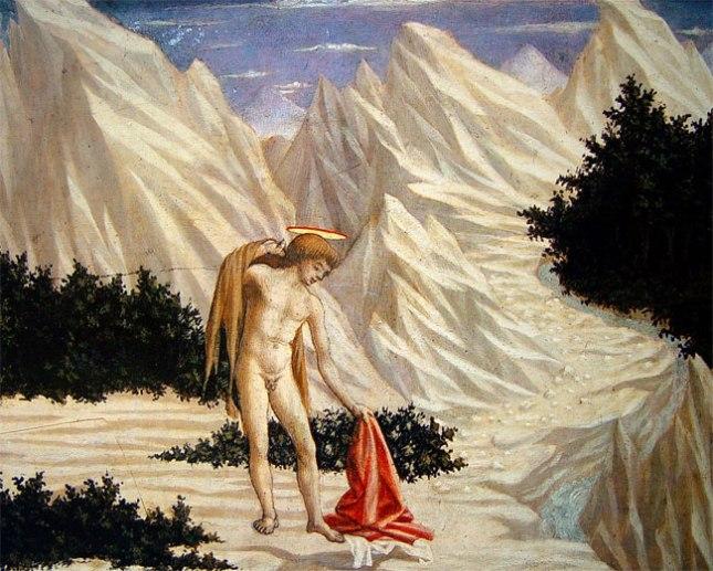 Геннадий Кацов СЛОВОСФЕРА №132 Доменико Венециано, «Иоанн в пустыне» (ок. 1445)