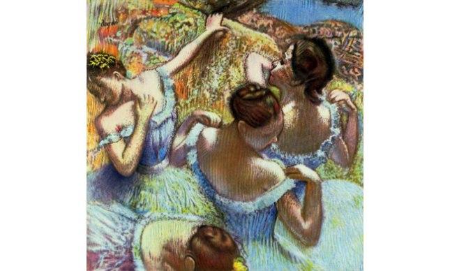 Геннадий Кацов СЛОВОСФЕРА №26 Эдгар Дега, «Голубые танцовщицы» (1899)