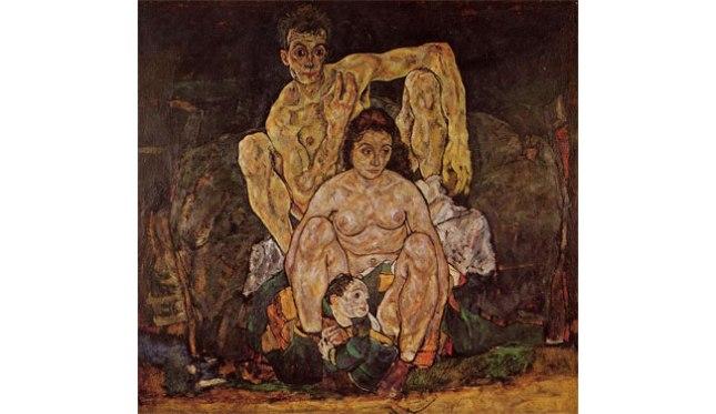Геннадий Кацов СЛОВОСФЕРА №56 Эгон Шиле, «Семья» (1918)