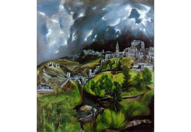 Геннадий Кацов СЛОВОСФЕРА №7 Эль Греко, «Вид Толедо» (1610 – 1614)