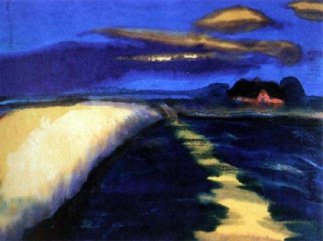 Геннадий Кацов СЛОВОСФЕРА №100 Эмиль Нольде, «Пшеничное поле» (1900)