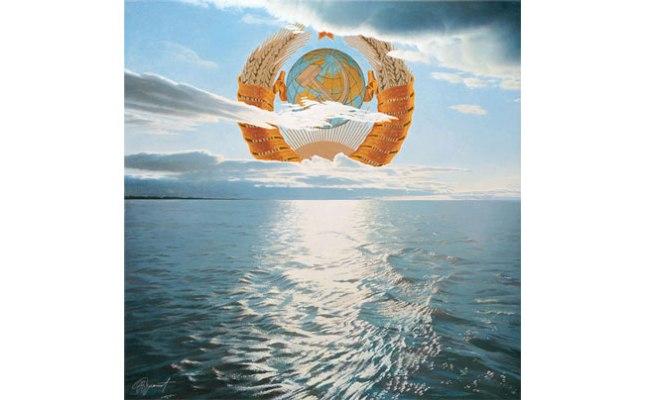 Геннадий Кацов СЛОВОСФЕРА №86 Эрик Булатов, «Заход или восход солнца» (1989)