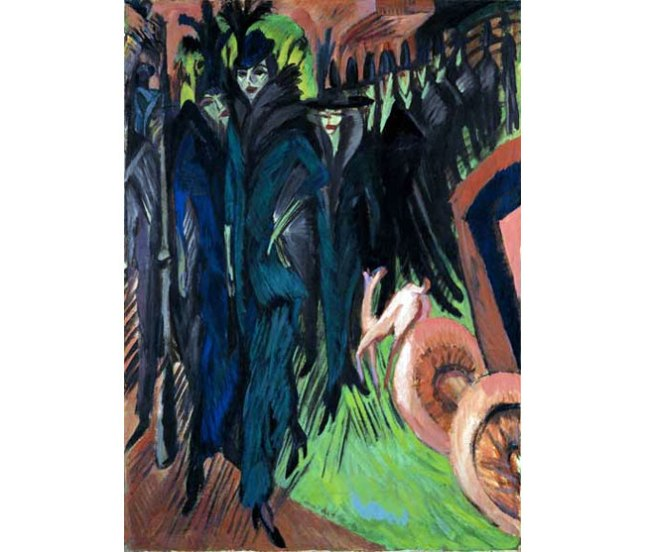 Геннадий Кацов СЛОВОСФЕРА №133 Эрнст Людвиг Кирхнер, «Фридрихштрассе, Берлин» (1914)
