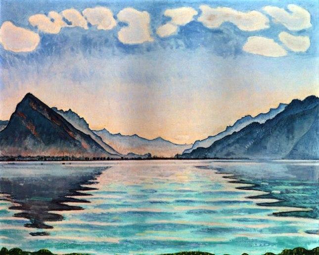 Геннадий Кацов СЛОВОСФЕРА №79 Фердинанд Ходлер, «Озеро Тан» (1905)