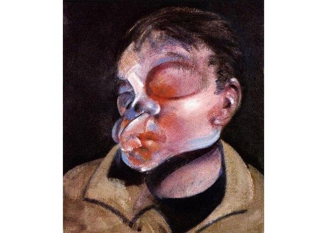 Геннадий Кацов СЛОВОСФЕРА №10 Фрэнсис Бэкон, «Автопортрет с поврежденным глазом» (1964)