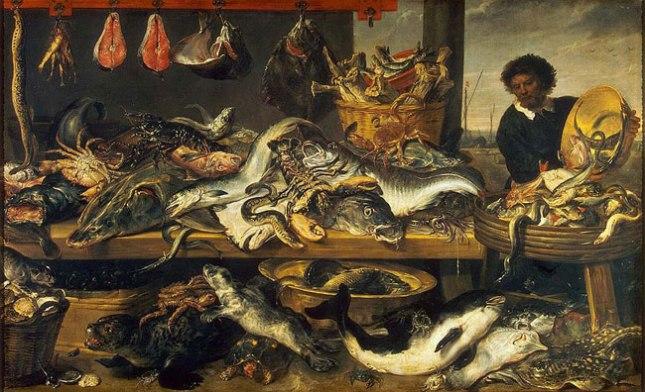 Геннадий Кацов СЛОВОСФЕРА №61 Франс Снейдерс, «Рыбная лавка» (1620)