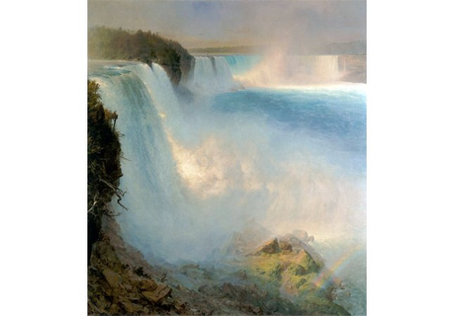 Геннадий Кацов СЛОВОСФЕРА №80 Фредерик Эдвин Чёрч, «Вид на Ниагарский водопад с американского берега» (1867)