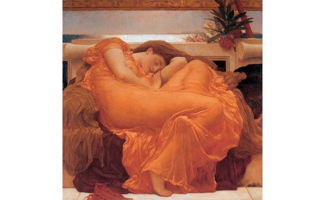 Геннадий Кацов СЛОВОСФЕРА №42 Фредерик Лейтон, «Пламенеющий июнь» (1895)