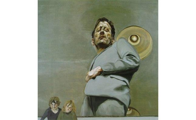 Геннадий Кацов СЛОВОСФЕРА №122 Люсьен Фрейд, «Отражение с двумя детьми. Автопортрет» (1965)