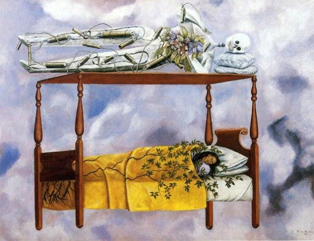 Геннадий Кацов СЛОВОСФЕРА №97 Фрида Кало, «Сон» (1940)