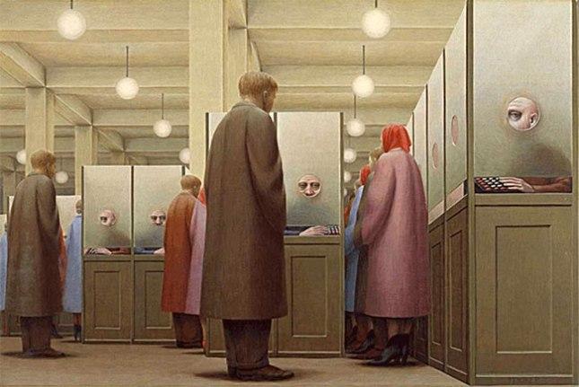 № 148 Джордж Тукер, «Правительственное бюро» (1956)
