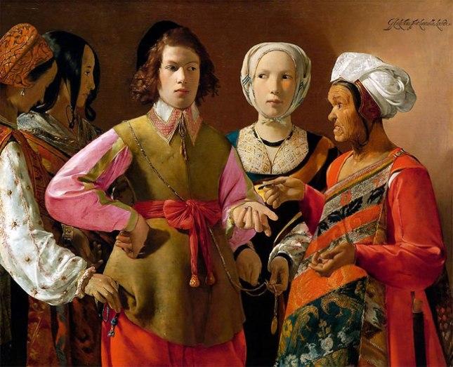 Геннадий Кацов СЛОВОСФЕРА №103 Жорж де Латур, «Гадалка» (1630—1635)