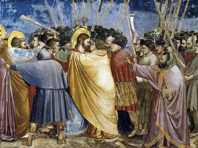 Геннадий Кацов СЛОВОСФЕРА №118 Джотто ди Бондоне, «Поцелуй Иуды» (ок. 1305)
