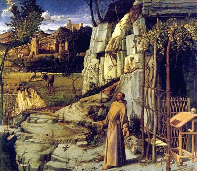 Геннадий Кацов СЛОВОСФЕРА №130 Джованни Беллини, «Экстаз Св. Франциска» (ок. 1485)