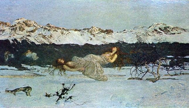 Геннадий Кацов СЛОВОСФЕРА №96 Джованни Сегантини, «Наказание порочных» («Наказание за роскошь») (1891)