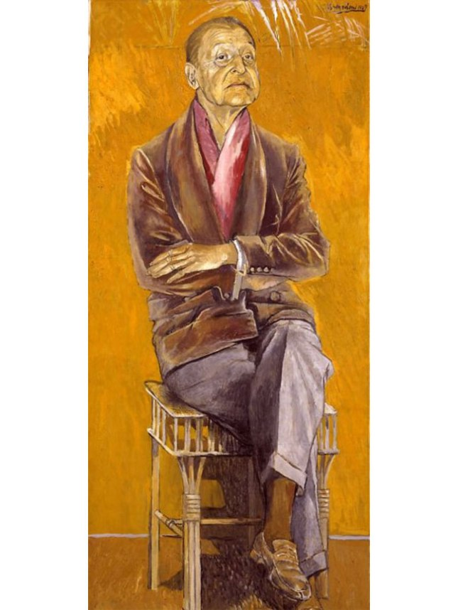 Геннадий Кацов СЛОВОСФЕРА №78 Грехэм Сазерленд, «Портрет Сомерсета Моэма» (1949)