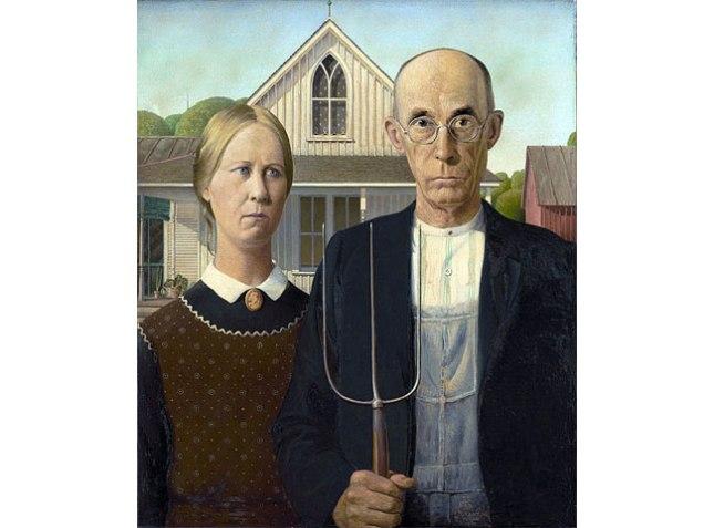 Геннадий Кацов СЛОВОСФЕРА №34 Грант Вуд, «Американская готика» (1930)