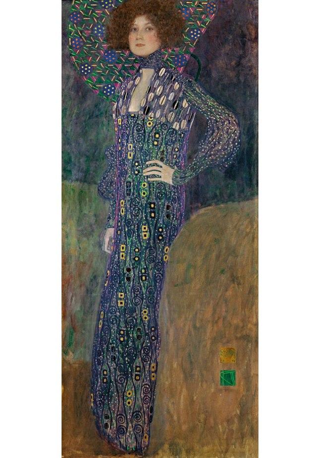 Геннадий Кацов СЛОВОСФЕРА №28 Густав Климт, «Портрет Эмилии Флоге» (1902)