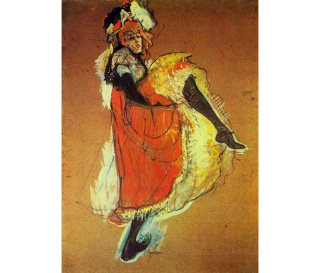Геннадий Кацов СЛОВОСФЕРА №22 Анри Тулуз-Лотрек, «Танцующая Джейн Арвиль» (1893)