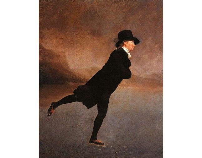 Геннадий Кацов СЛОВОСФЕРА  № 146 Генри Ребёрн, «Священник Роберт Уолкер, катающийся на коньках на озере Даддингстон» (1795)
