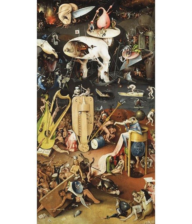 Геннадий Кацов СЛОВОСФЕРА №12 Иероним Босх, «Сад земных наслаждений» (1510-1515) (фрагмент)