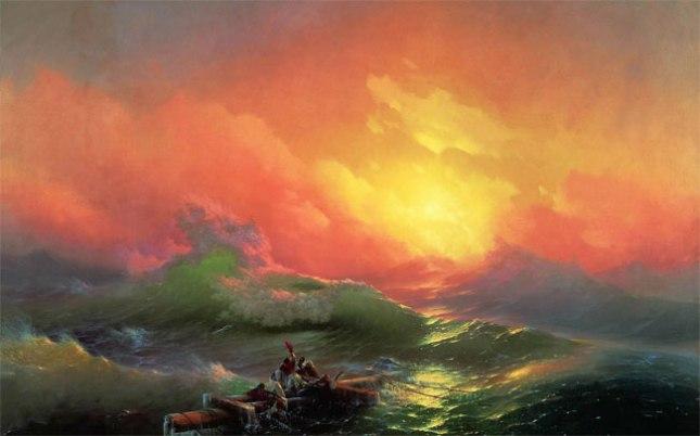 Геннадий Кацов СЛОВОСФЕРА №9 Иван Айвазовский, «Девятый вал» (1850)