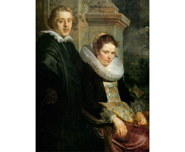 Геннадий Кацов СЛОВОСФЕРА №127 Якоб Йорданс, «Портрет молодых супругов» (1620)