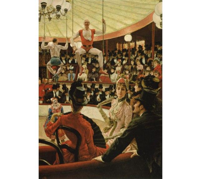Геннадий Кацов СЛОВОСФЕРА №123 Джеймс Тиссо, «Женщины в Париже. Любительницы цирка» (1885)