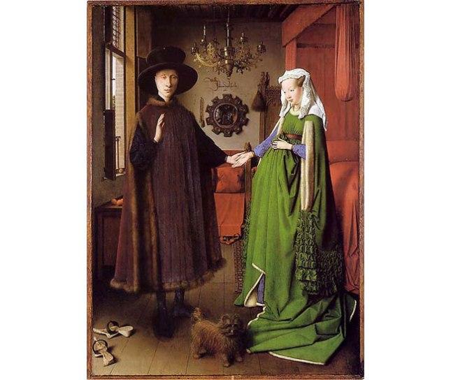 Геннадий Кацов СЛОВОСФЕРА №38 Ян ван Эйк, «Портрет четы Арнольфини» (1434)