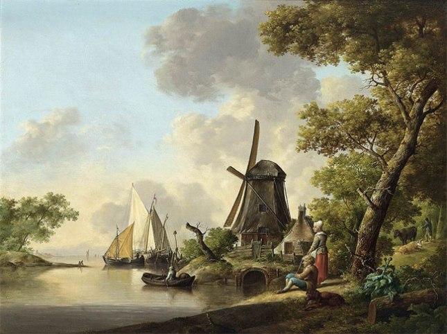 Геннадий Кацов СЛОВОСФЕРА №114 Ян ван Оз, «Летний ландшафт»(1770-е)