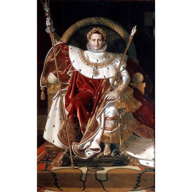 Геннадий Кацов СЛОВОСФЕРА №47 Жан-Огюст-Доминик Энгр, «Наполеон на императорском троне» (1806)