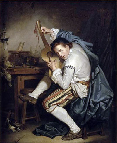 Геннадий Кацов СЛОВОСФЕРА №129 Жан-Батист Грёз, «Гитарист» (1755)