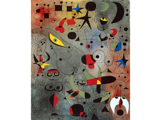 Геннадий Кацов СЛОВОСФЕРА №106 Жоан Миро, «Созвездие: Пробуждение на рассвете» (1941)