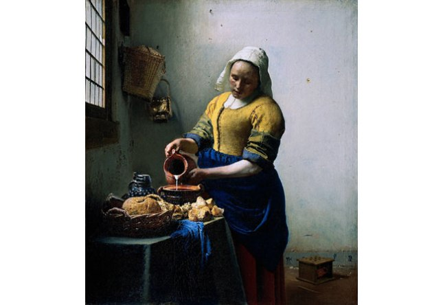 Геннадий Кацов СЛОВОСФЕРА №1 Ян Вермеер, «Молочница» (1658)