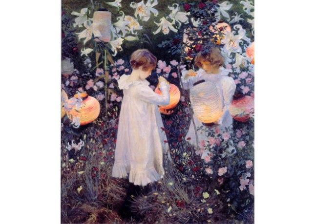 Геннадий Кацов СЛОВОСФЕРА №75 Джон Сингер Саржент, «Китайские фонарики. Гвоздика, Лилия, Лилия, Роза», (1885-86)