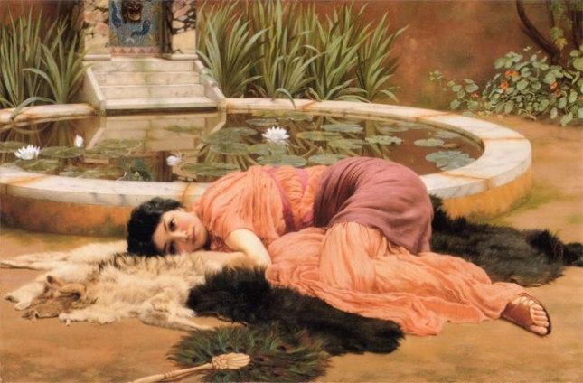 Геннадий Кацов СЛОВОСФЕРА №70 Джон Уильям Годвард, «Dolce Far Niente» (1904)