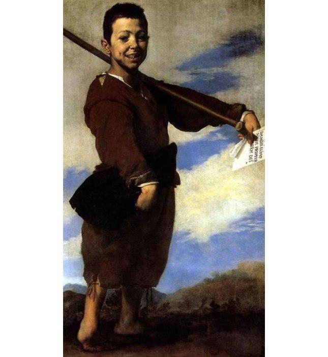 Геннадий Кацов СЛОВОСФЕРА №142 Хосе де Рибера, «Хромоножка» (1642)