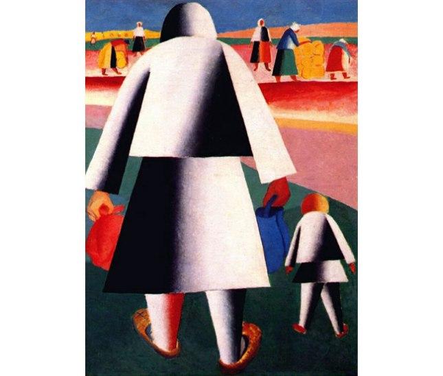 Геннадий Кацов СЛОВОСФЕРА №37 Казимир Малевич, «На жатву (Марфа и Ванька)» (1928-1929)