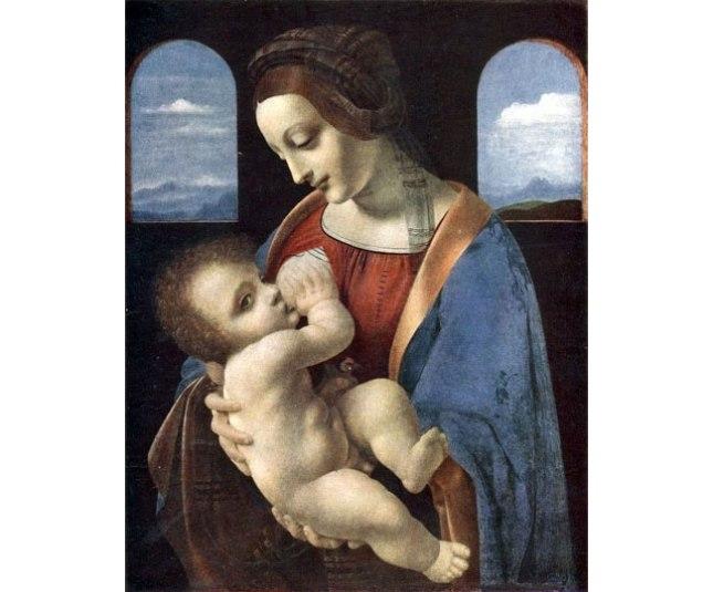 Геннадий Кацов СЛОВОСФЕРА №152 Леонардо да Винчи, «Мадонна с младенцем. Мадонна Литта» (1490)