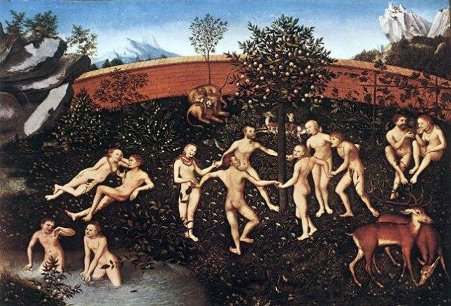 Геннадий Кацов СЛОВОСФЕРА №29 Лукас Кранах Старший, «Золотой век» (1530 )